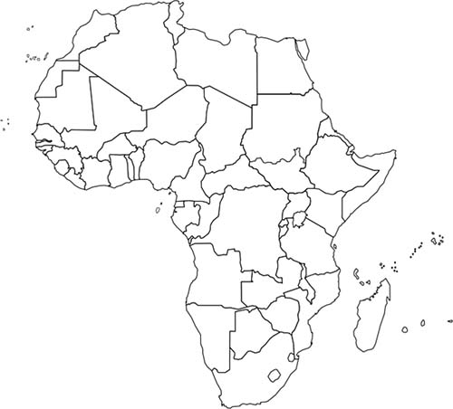 Countries Of Africa In Serbian Quiz - By g3n3s1s