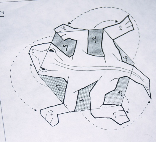 The third activity was to make a lizard tessellation from a hexagon.